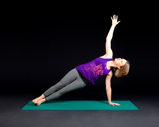 Plank, Fitness, Muscular, Exercising, Girl, Shape