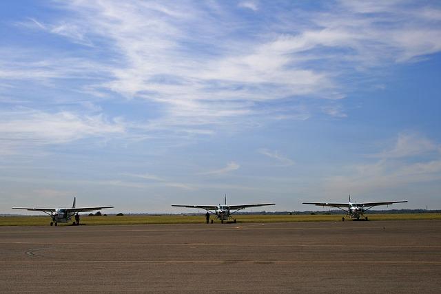 Cessna Caravans, Aircraft, Fixed Wing, Air Field