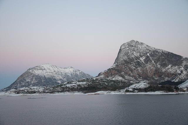 Norway, Coastal, Mountains, Scandinavia, Fjord, Travel