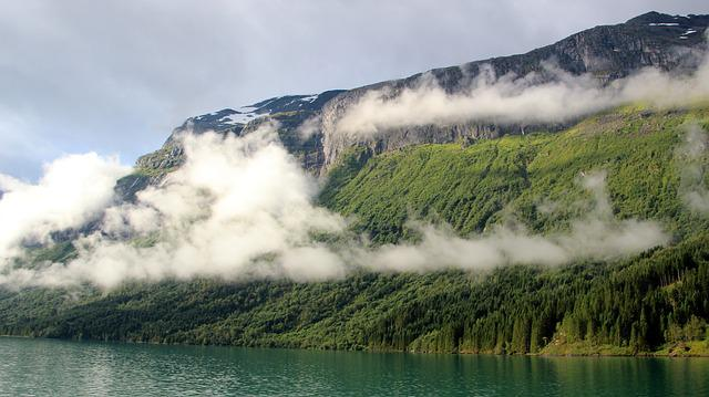 Fjords, Norway, Nature, Waters, Panorama, Landscape