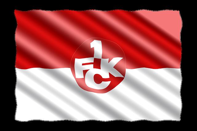 Football, 2 Bundesliga, Flag, 1 Fc Kaiserslautern