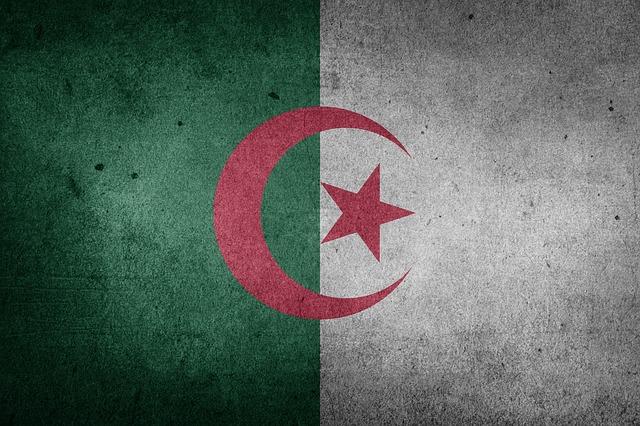 Algeria, Flag, Africa, National Flag, Sahara, Grunge
