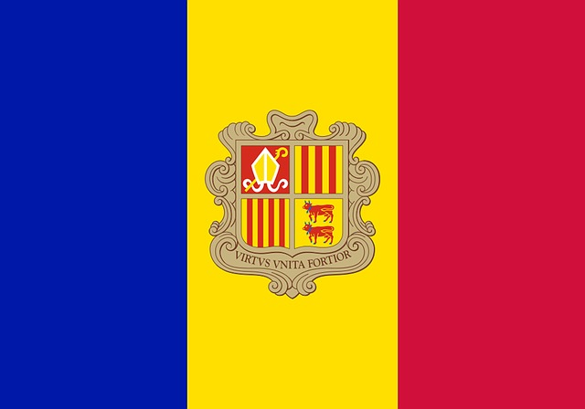 Andorra, Flag, Land, Coat Of Arms, Characters
