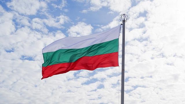 Bulgaria, Flag, Sky