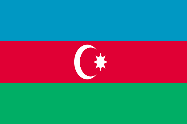 Azerbaijan, Flag, National Flag, Nation, Country
