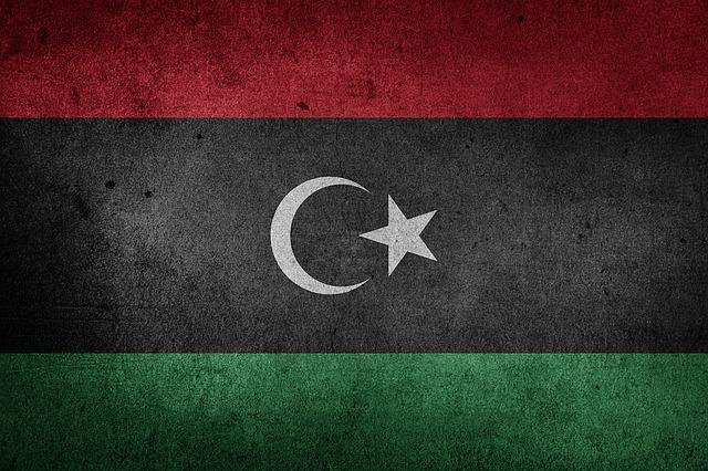 Flag, Libya, Africa, National Flag, Grunge, Arab