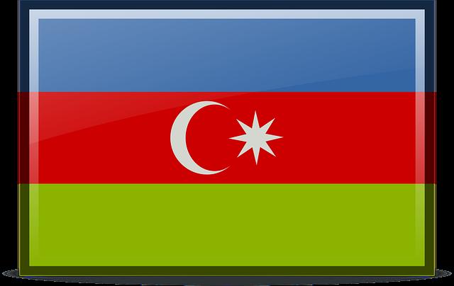 Azerbaijan, Flag, Icons, Rodentia Icons, Symbol