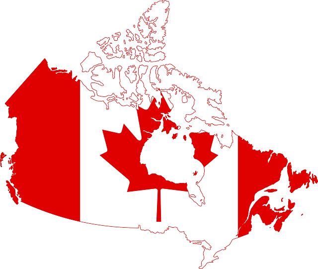 Canada, Flag, Map, Country, Nationality, Symbol