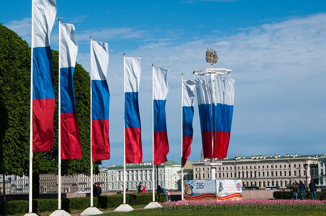Day Of The City, Flag Of Russia, State Flag, Flag