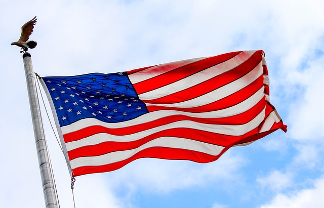 Flag, Patriotism, Wind, Freedom, Pride