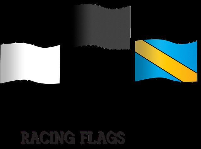 Racing Flags, Car Racing, Finish, Race, Flag, Car