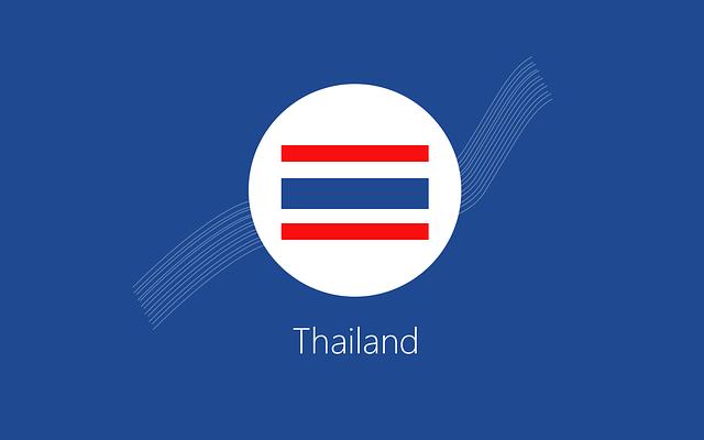 Thailand, Flag, Background, Thailand Flag