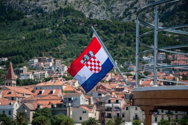 Croatia, Flag, Sea, Country, Football, Tournament