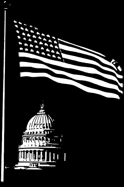 Capitol, Washington Dc, Flag, Usa, Patriotism