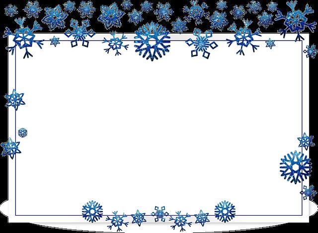 Free photo Flake Xmas Border Frame Snow Christmas Card ...