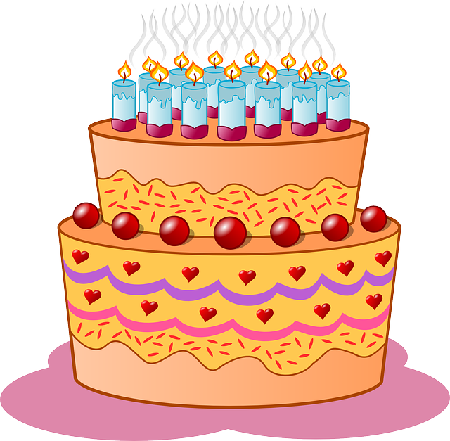 Birthday, Cake, Candles, Icing, Cream, Flame, Event