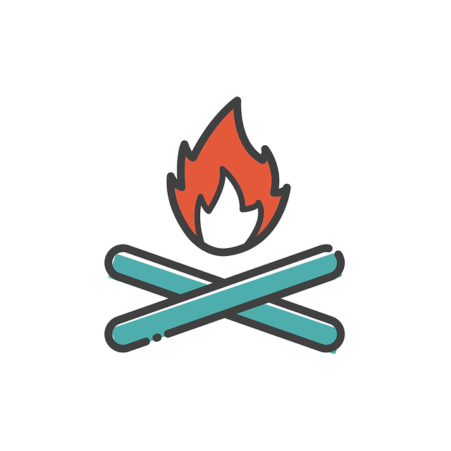 Bonfire, Icon, Sign, Fire, Flame, Campfire, Burn, Hot