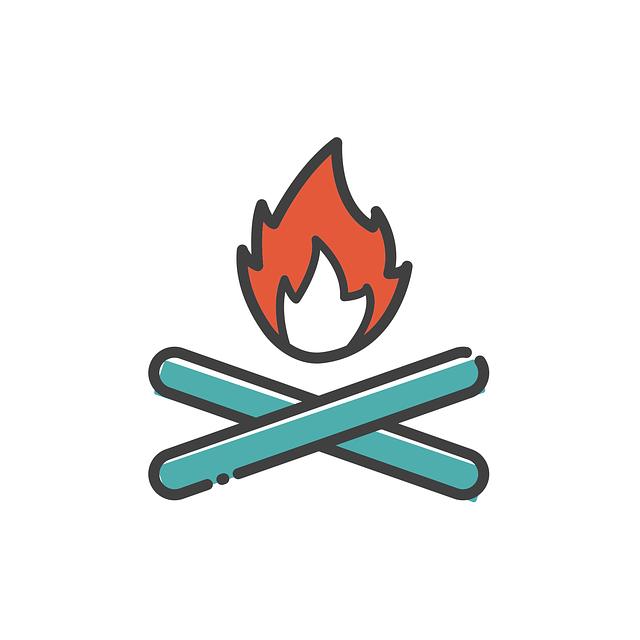 Bonfire, Icon, Sign, Fire, Flame, Campfire, Burn, Hot