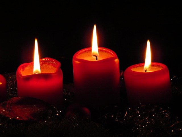 Advent, Cozy, Quiet, Advent Wreath, Candles, Flame