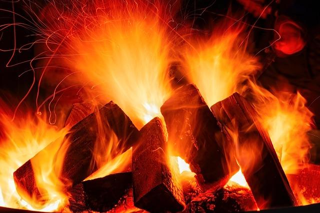 Fire, Flame, Campfire, Fireplace, Embers, Hot, Burn