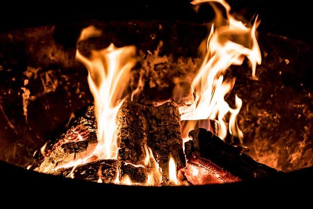 Flare-up, Heat, Campfire, Joy Fire, Hot, Flame