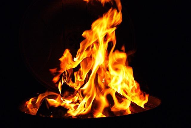 Fire, Outdoor, Bbq, Wood, Heat, Glow, Flames, Brand
