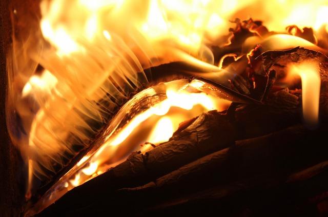 Flames, Fire, Heat, Hot, Burned, Glow, Light, Burn