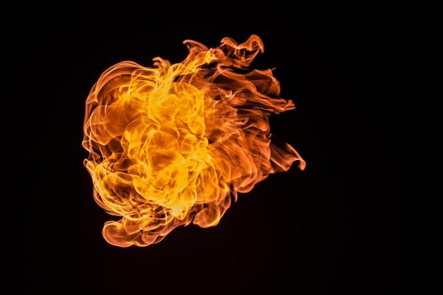 Flame, Fire, Inferno, Orange, Burning, Flammable, Burn