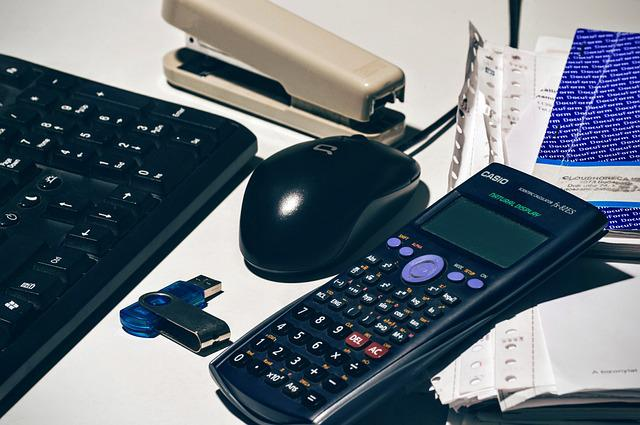 Accounting, Flash Drive, Keyboard, Mouse, Office