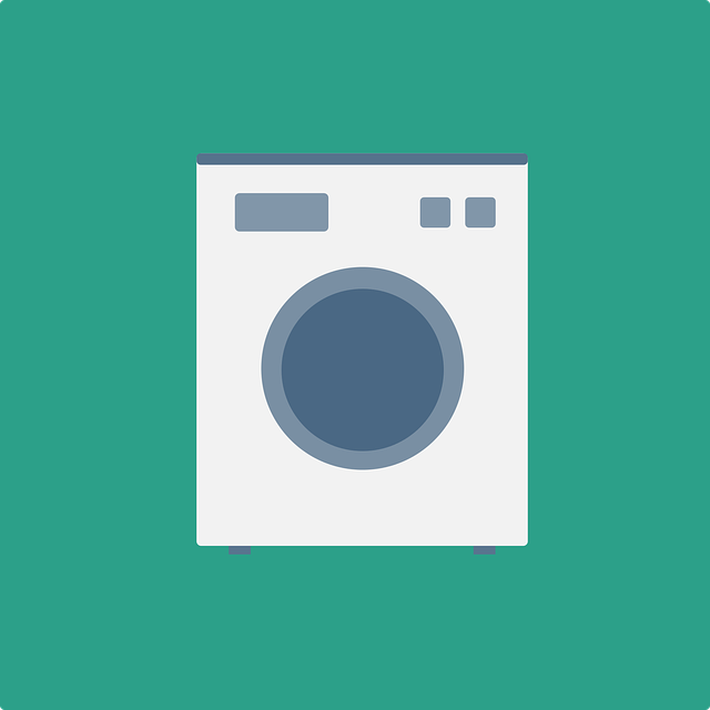 Washing Machine, Laundry, Flat Design, Flat, Dry