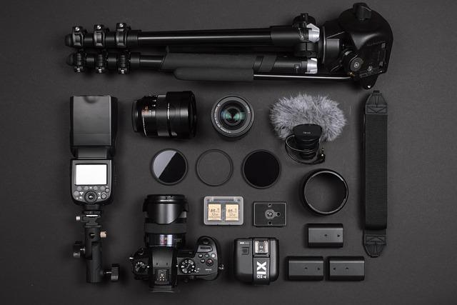 Camera, Lens, Photography, Flat, Digital, Photo