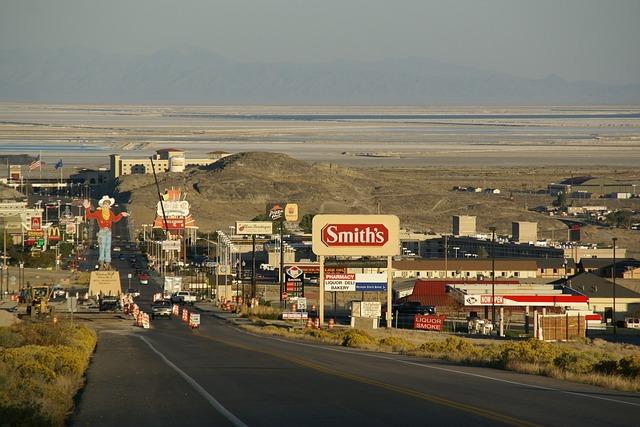Wendover, Nevada, Usa, Desert, Bonneville, Flats