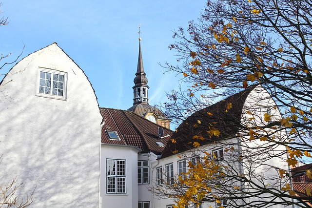 Flensburg, St Johannis, Church, Architecture, Building