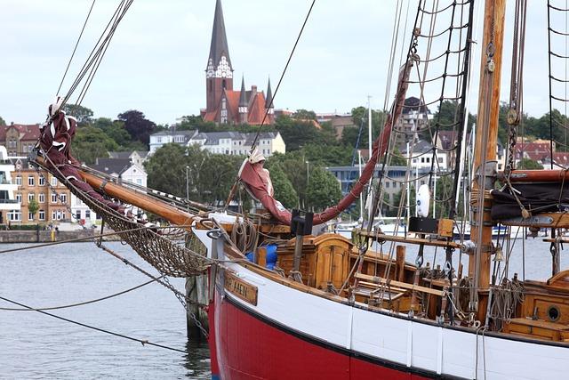 Flensburg, St Jürgen, Port, Eastern Shore, Dagmar Aaen