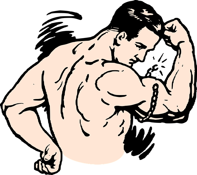 Muscles, Strong, Man, Bodybuilder, Flex, Biceps
