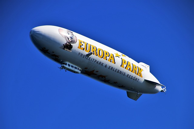 Flight, Zeppelin, Places Of Interest, Bodensee, Sky