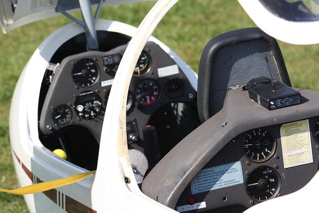 Gliding, Cockpit, Flight Instruments, Fly