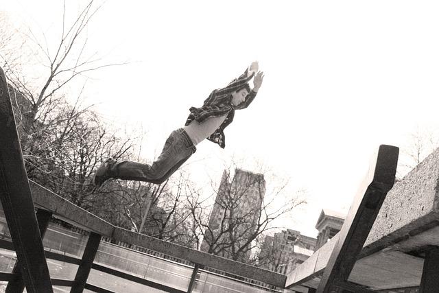 Parkour, Jump, Toronto, Flight