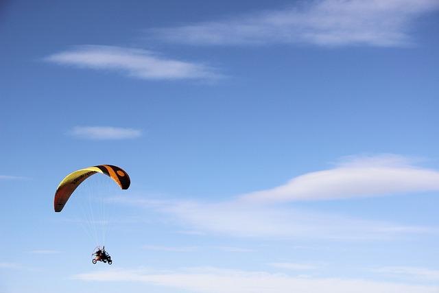 Hang Glider, Fly, Flying, Sky, Skies, Flight, Wings