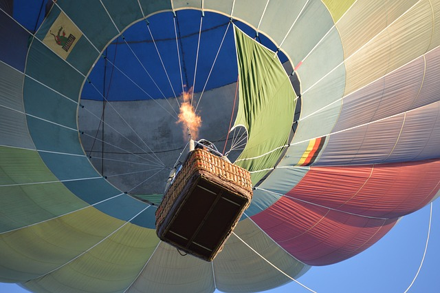 Flight, Balloon, Flame, Hot Air, The Recycle Bin
