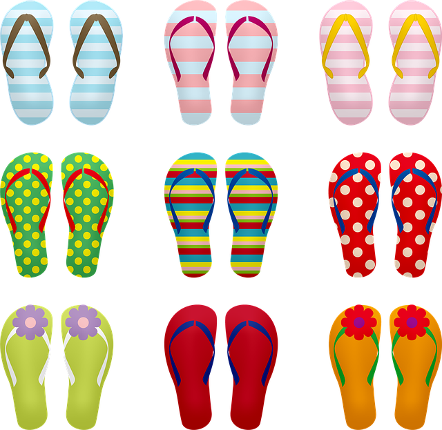 Flip Flops, Sandals, Summer, Beach, Shoes, Vacation
