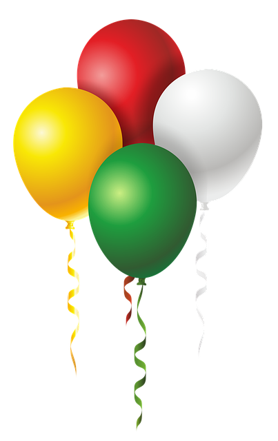 Balloons, Colorful, Fun, The Adoption Of, Float