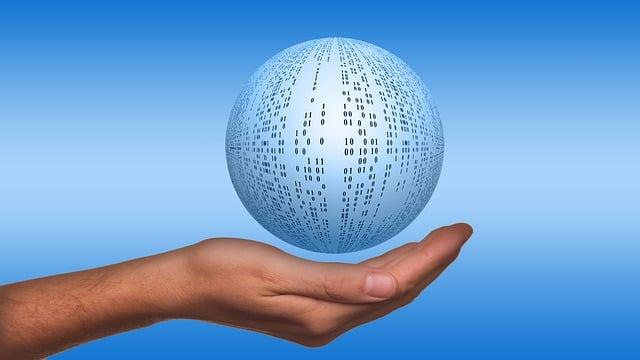 Ball, About, Binary Ball, Hand, Keep, Float, Binary