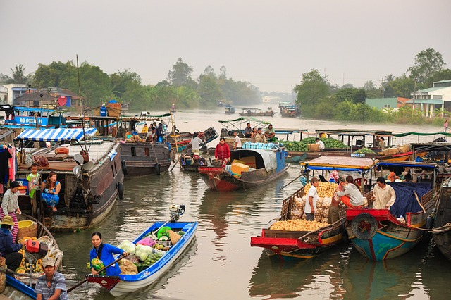Floating Market, On The River, Culture, The Tradition