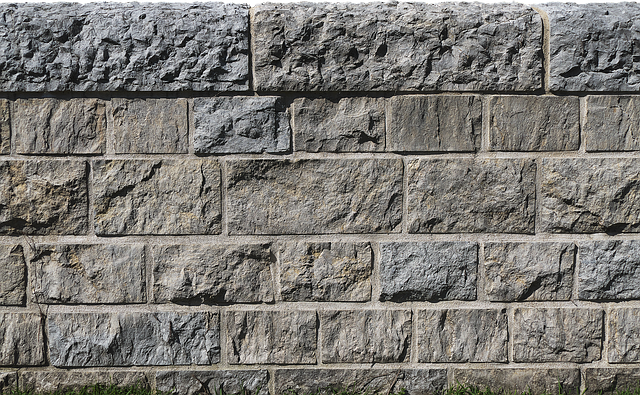 Flood Wall, Flood Protection, Stone Wall, Background