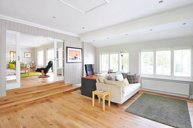 Wooden Floor, House, Floor, Hardwood, Construction