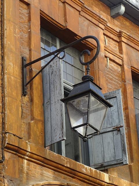 Floor Lamp, Street, Lille, Light, Urban, Lighting