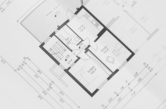 Building Plan, Floor Plan, Architectural