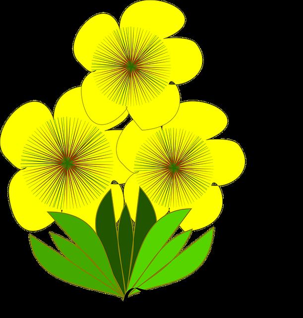 Flor, Flor Amarela, Spring