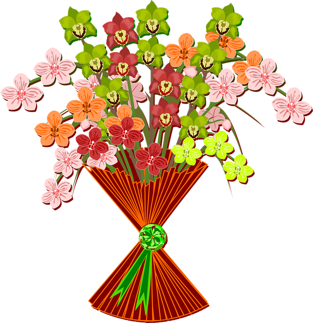 Bouquet, Clip Art, Flor, Flora, Flower, Nature, Plant